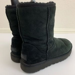 UGG classic solid black boots 7